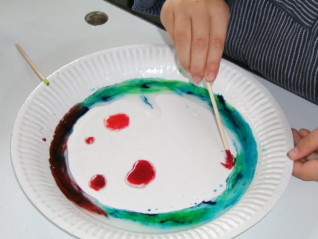 Entdeckung der Regenbogenfarben